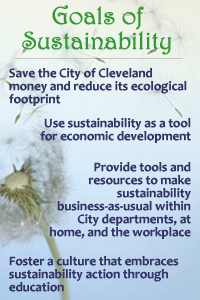 Goals of Sustainability