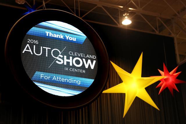 Cleveland Auto Show City Of Cleveland - Cleveland car show ix center